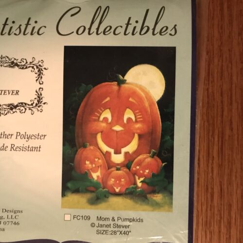 Artistic Collectibles Mom & Pumpkins Janet Stever All Weathe