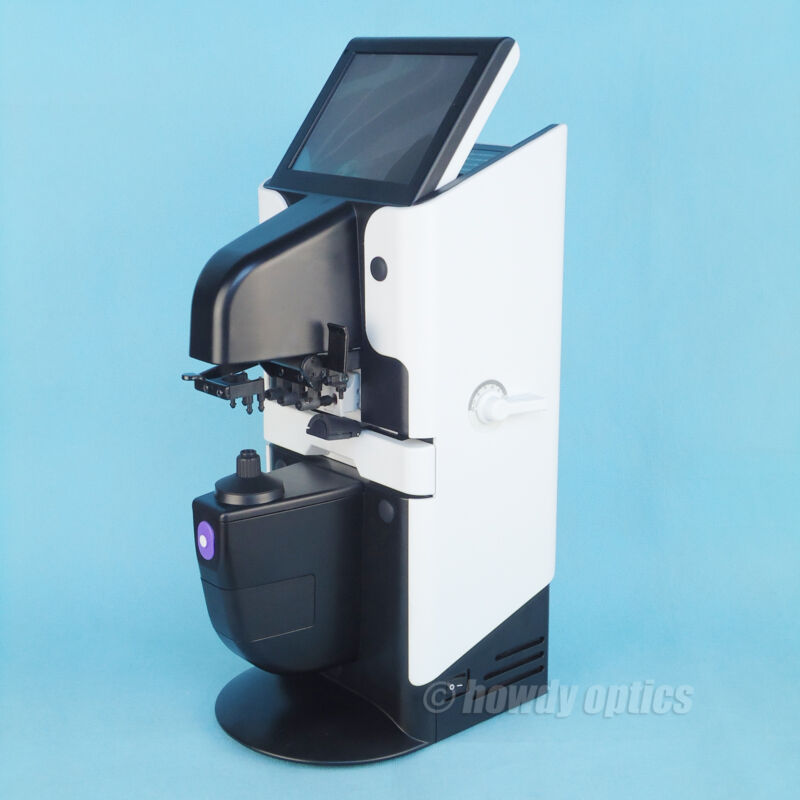 New design auto lensmeter Optical lensometer Touch screen UV meter & Printer