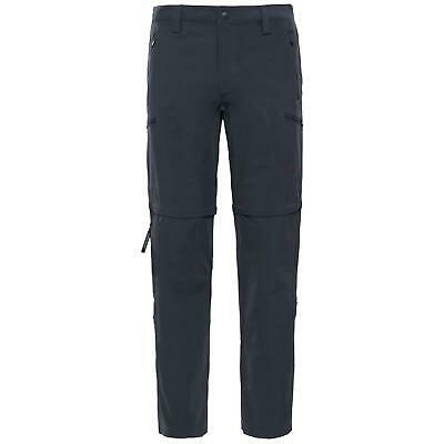 The North Face Mens Exploration Convertible Pants Short - Asphalt Grey