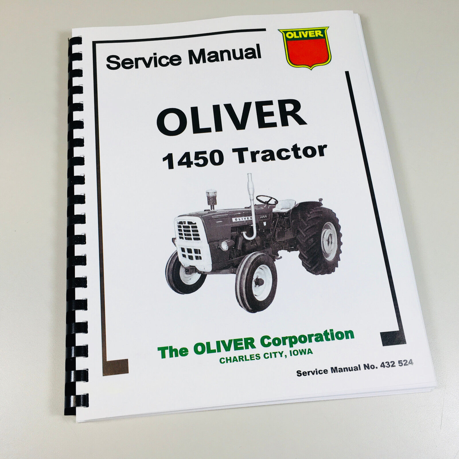Oliver 1850 Tractor Service Manual IT Shop Patio, Lawn & Garden ...