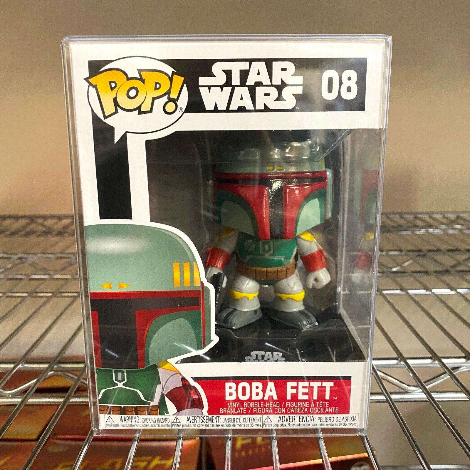 Funko POP! Star Wars Bobble Head Boba Fett Vinyl 3.75-Inch F