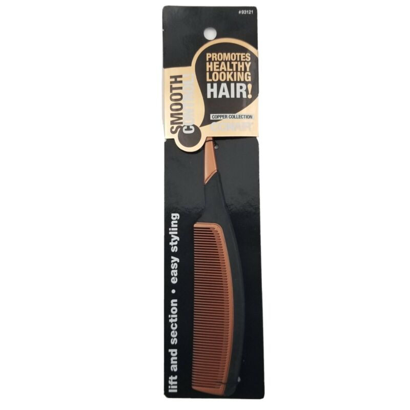 Conair Copper Collection Smooth Control Tail Comb Lift & Section Easy Styling
