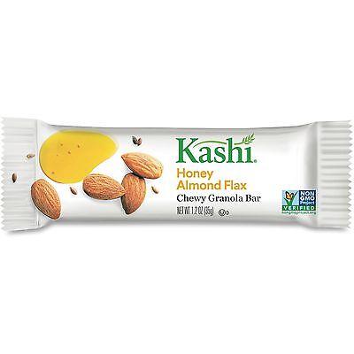 Kelloggs Chewy Granola Bar Kashi Honey Almond Flax 12/BX White 37950