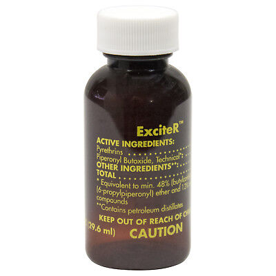 ExciteR Insecticide Pyrethrins 6% ( Case of 24 x 1 oz Btls ) NOT FOR SALE TO: NY