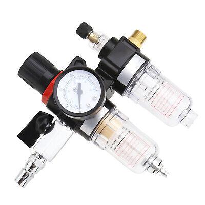 14air Pressure Regulator Oil Water Separator Trap Filter Airbrush Compresor
