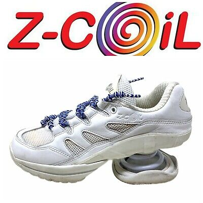 Z-Coil Freedom Classic Women's Sz 8 White Walking Shoes Comfort Pain Relief