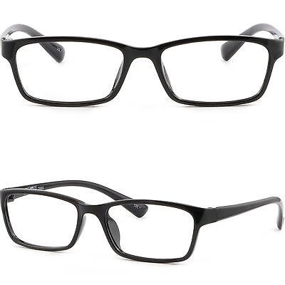 Unisex TR90 Flexible Plastic Frames Bendable Prescription RX Glasses Shiny (Bendable Prescription Glasses)