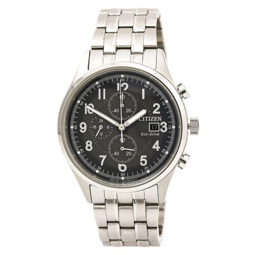 Citizen Men's Eco-Drive Chronograph Stainless Steel Bracelet
