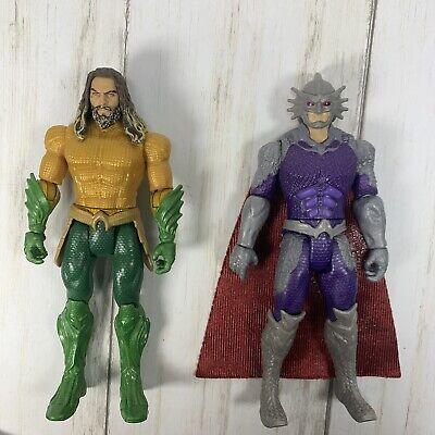 "2018 6"" DC Aquaman & Ocean Master Action Figures"