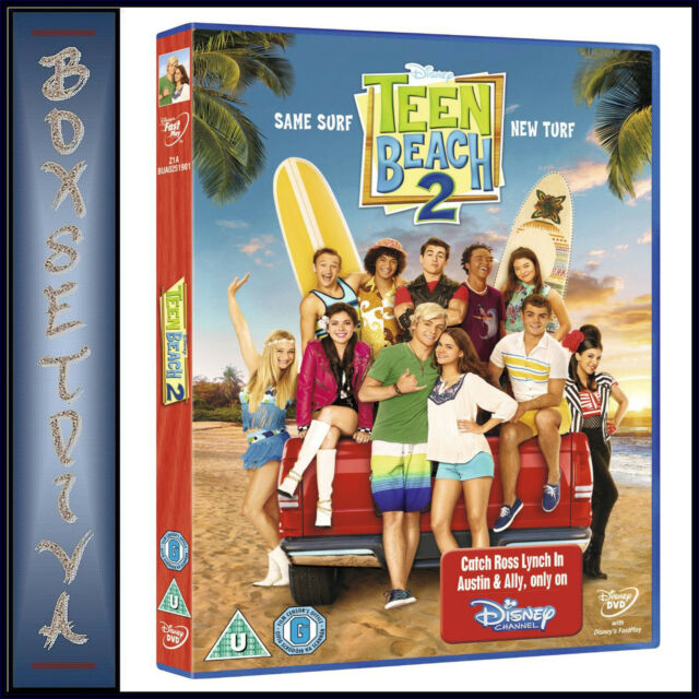 TEEN BEACH MOVIE 2 - Ross Lynch  **BRAND NEW DVD**