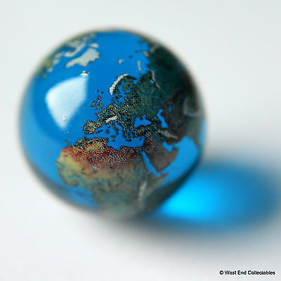 22 Millimetre Globe Marble Glass - Earth Navigation Maritime Chart Orrery Planet