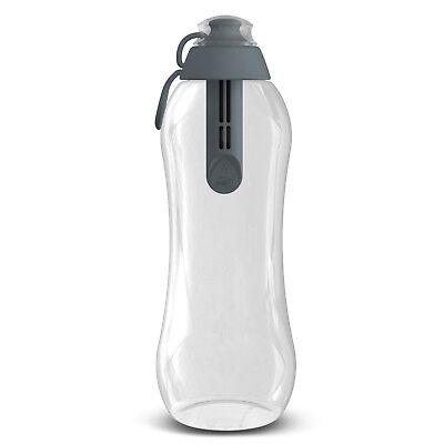 Dafi 24 Fl Oz Filtered Water Bottle with Carbon Filter for Better Tasting
