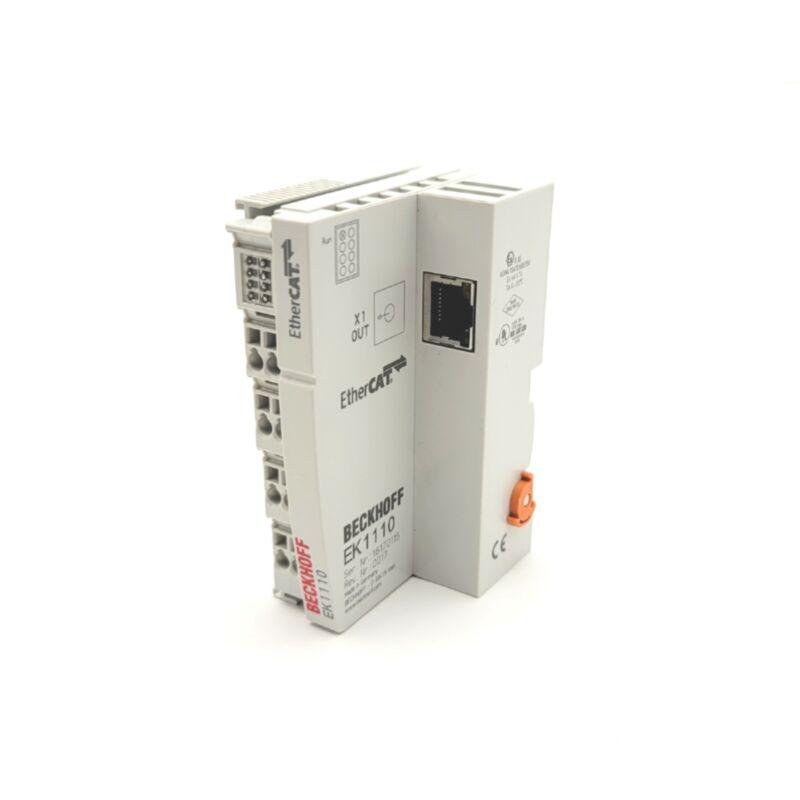 Beckhoff EK1110 EtherCAT Extension Module 1x RJ45 E-Bus To 100BASE-TX