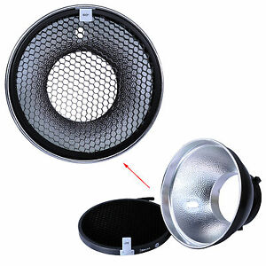 180mm-Metal-Reflector-Softbox-Honeycomb-Grid-for-Bowens-Studio-Strobe-Flash