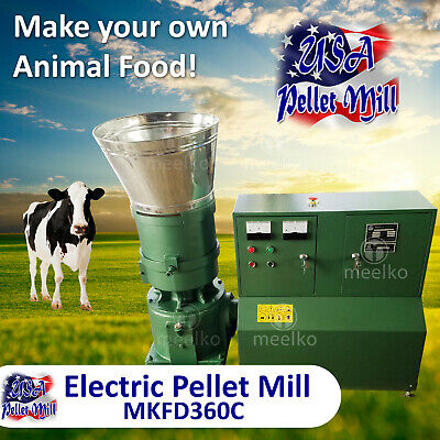 Electric Pellet Mill For Cow's Food - MKFD360C - USA