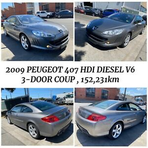 🔥 Wrecking 2009 Peugeot 407 HDI Diesel V6 3Dr Coup in Grey Colour , 152,231km on the clock ⏰ West Footscray Maribyrnong Area Preview