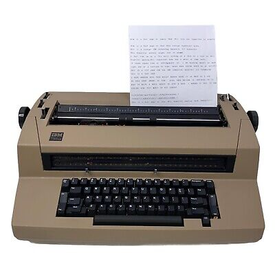 Vintage Ibm Correcting Selectric Iii Electric Typewriter Tested