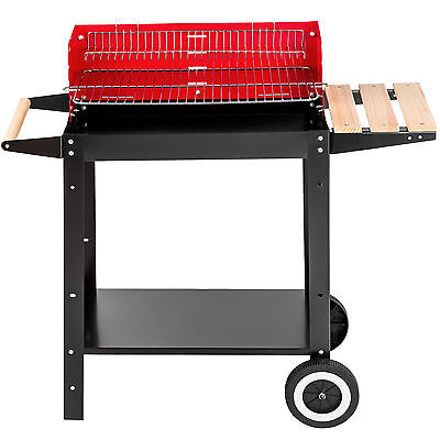 Barbecue chariot grill mobile 2 roues 1