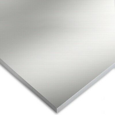 6061 Extra Thick Aluminum Sheet 12 X 12 X Inch Polished Metal Plate Panel