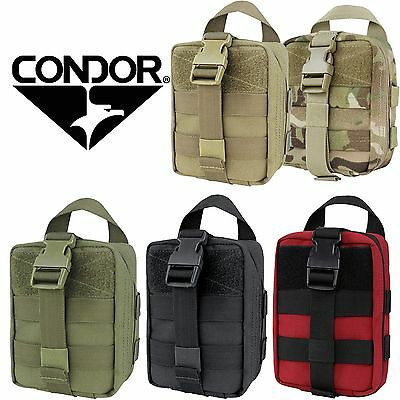 Utility Kit Bag - Condor 191031 Tactical MOLLE PALS Rip-Away EMT Lite Medic Bag Kit Utility Pouch