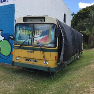Elwood Bus ready to convert to motorhome