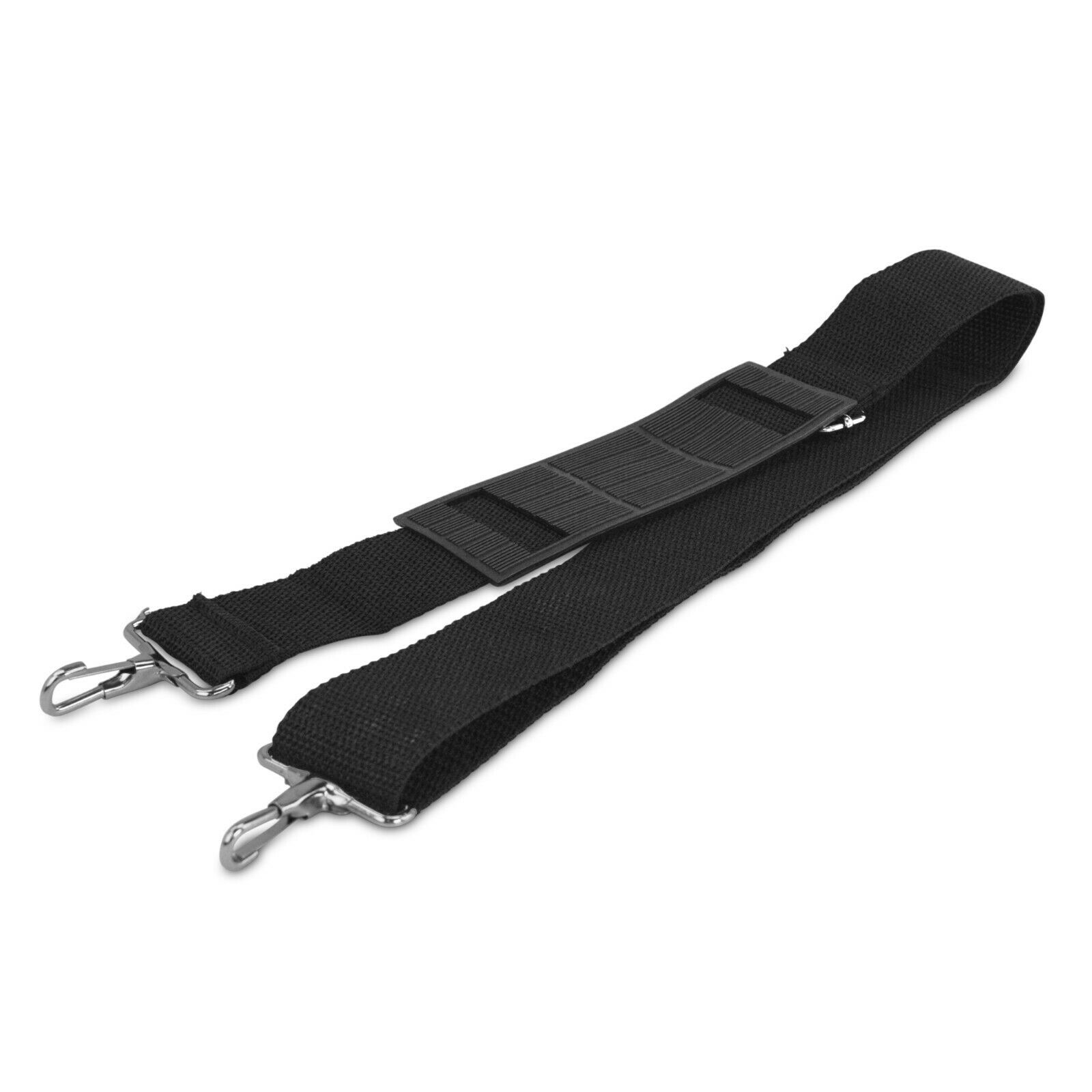 DALIX Metal Duffle Bag Strap Replacement Black Color Luggage Accessories