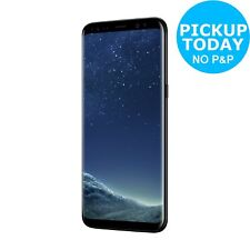 SIM Free Samsung Galaxy S8 5.8 Inch 64GB 12MP 4G Mobile Phone - Midnight Black