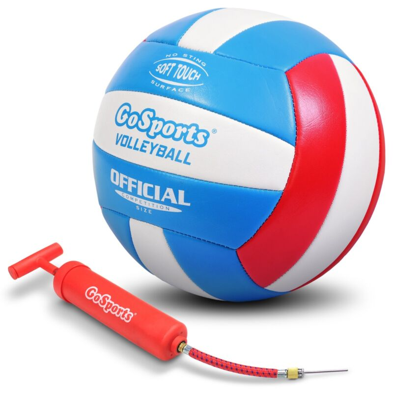 GoSports Soft Touch Recreational Volleyball   Lawn Summer Volleyball Games