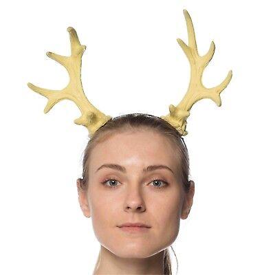 Doe Deere Halloween (Deer Doe Reindeer Buck Faun Antlers Mythical Animal Sven Costume)