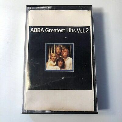 ABBA Greatest Hits Vol. 2 Cassette Tape 1979