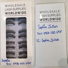 Wholesale Lash Supplies: Beautiful Glamorous Lashes 10 pair boxes Frenchs Forest Warringah Area Preview