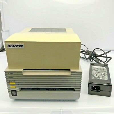 Sato Ct410dt Thermal Label Barcode Printer Network Ethernet