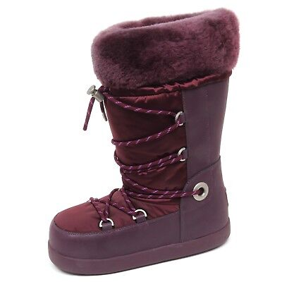 E9590 (SAMPLE NOT FOR SALE NO BOX) doposci donna purple UGG stivale boot woman - Purple Ugg Boots Sale