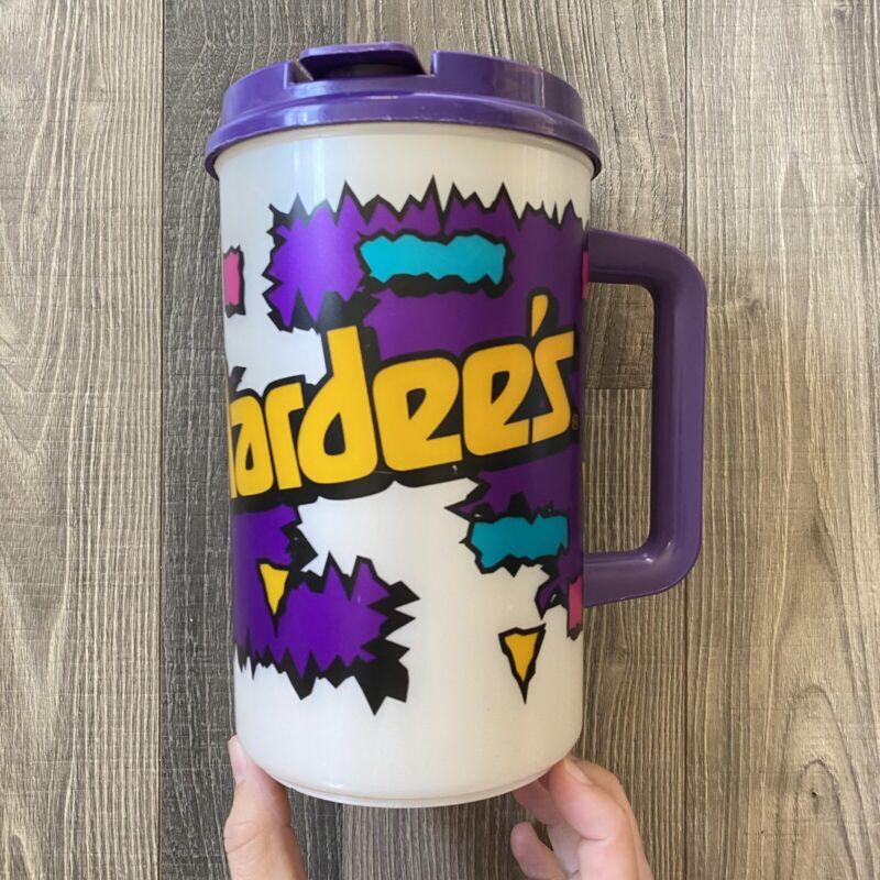 Hardees Vintage RETRO 1994 Refill Coco-Cola Mug Cup