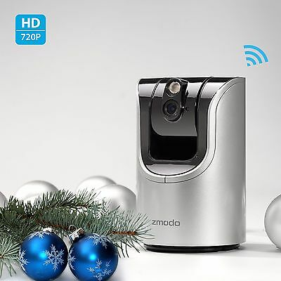 Zmodo 720p HD Pan Tilt Wireless IP Network IR Indoor Home Surveillance Camera