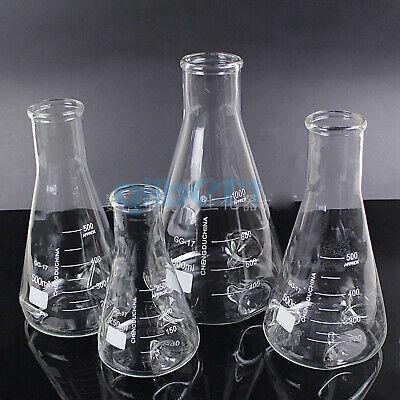 25050010002000ml Gg17 Glass Baffle Shake Conical Erlenmeye Flask Laboratory
