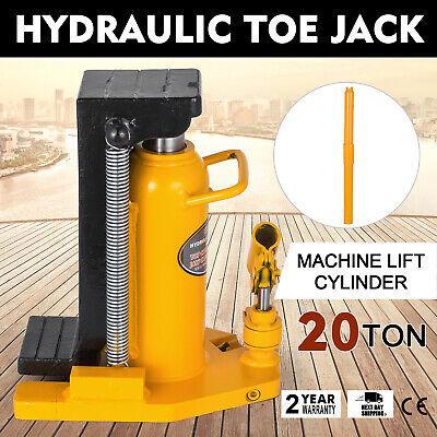 20 Ton Hydraulic Toe Jack Machine Lift Cylinder Equipment Proprietary Replace