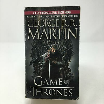 A Game of Thrones by George R.R. Martin (2011, Paperback, Good)