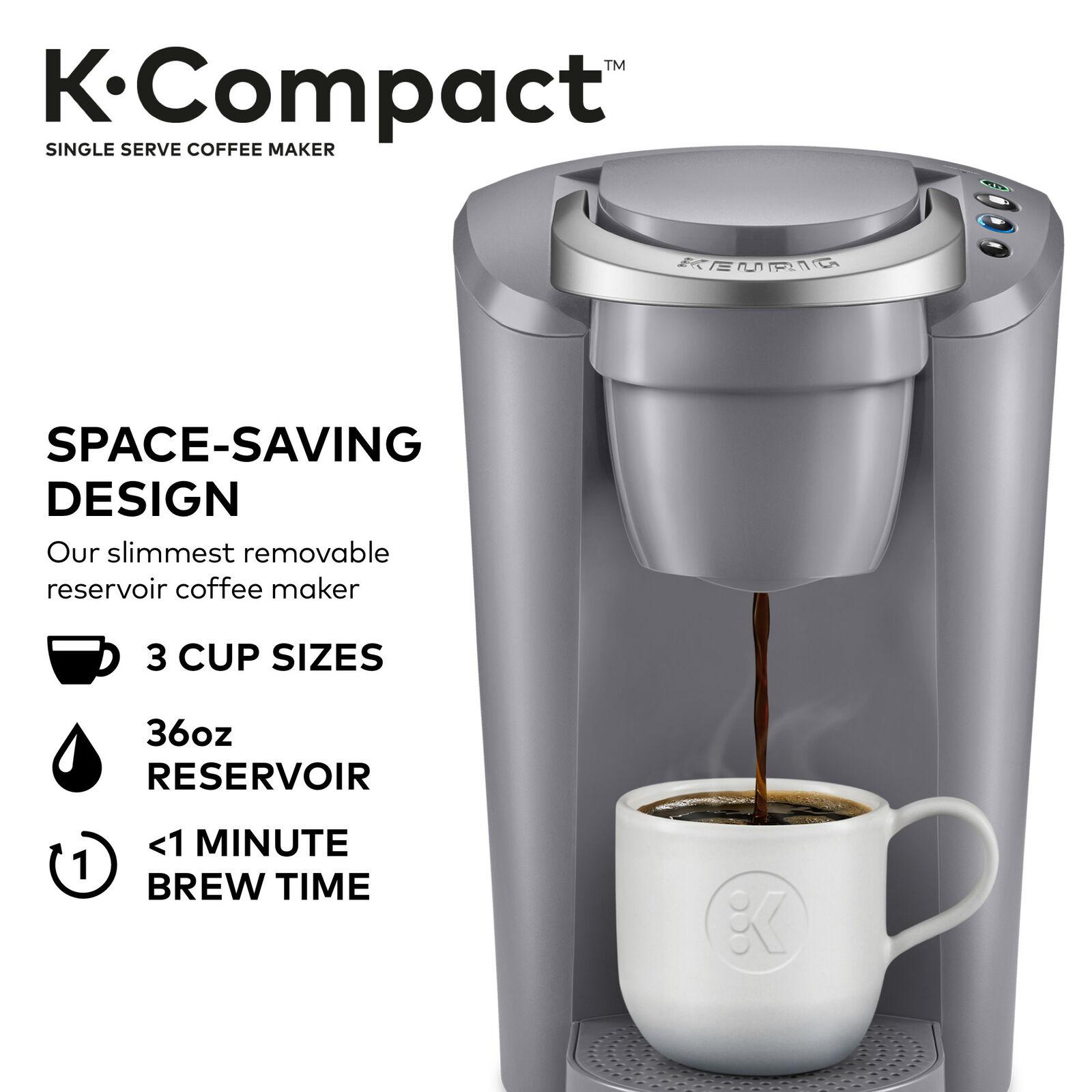 Black Keurig K-Compact Single-Serve K-Cup Pod Coffee Maker