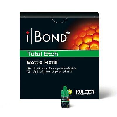 Kulzer Ibond Total Etch Adhesive Single Bottle Refill 4ml Bottle Fresh Exp Fda