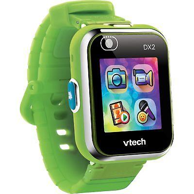 Vtech 80-193884 Kidizoom Smart Watch DX2 grün Smartwatch für Kinder Kindersmartwatch, Mehrfarbig