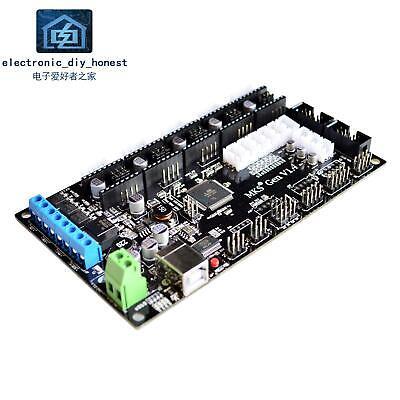 3d Printer Motherboard Control Board Mks Gen V1.4 Reprap Ramps1.4 Interface Rich