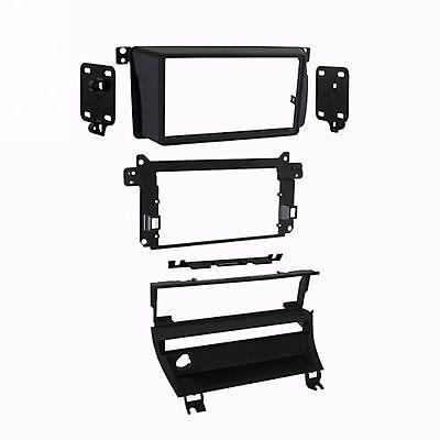 Bmw 3 Series Dash - METRA 95-9311B Double Din Dash Kit for BMW 3 Series M3 Stereo Radio Install