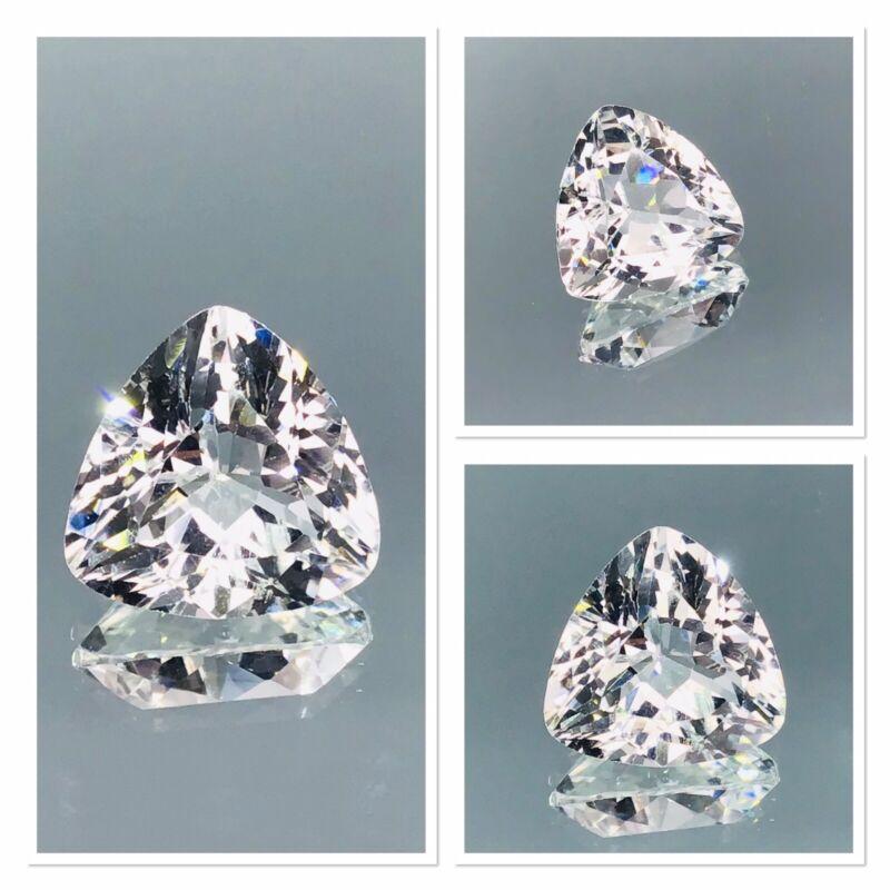 Flawless Killiecrankie Diamond Fancy Cut Trillion Tasmanian Gemstone 5.75 Carat