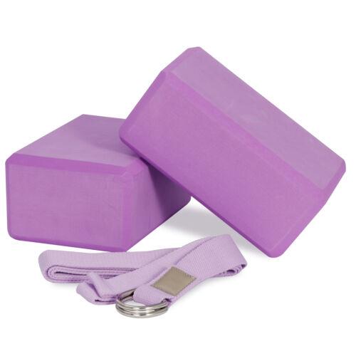 2pc Yoga Blocks Foam EVA Brick Fitness Balance Stretch Exercise Prop Fitness, Running & Yoga