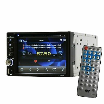 SoundXtreme 2 Din DVD Bluetooth Receiver with DVD/CD/MP3/FM/USB/SD ST-6527BT NEW