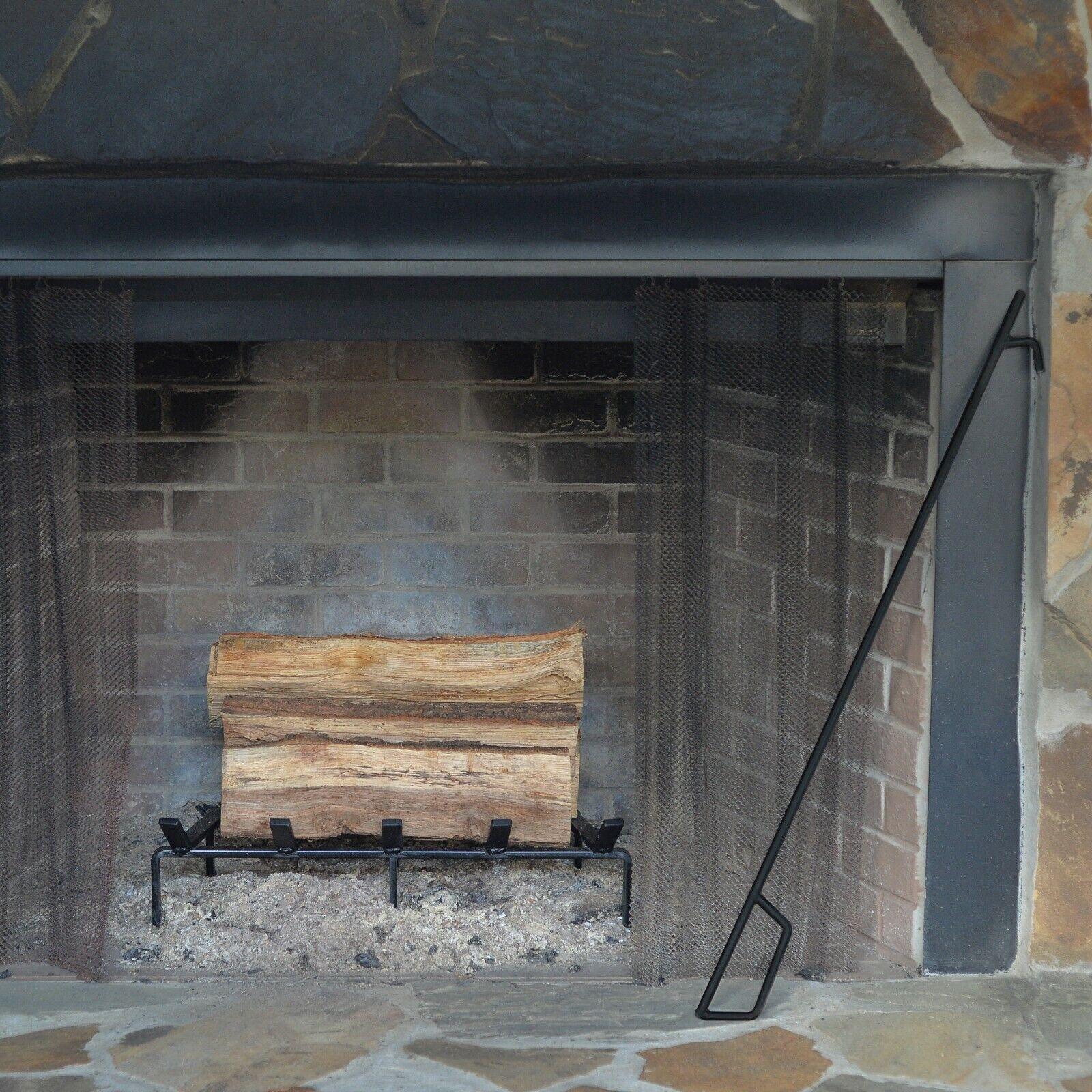 SteelFreak Heavy Duty Steel Fireplace Grate - Made in the US