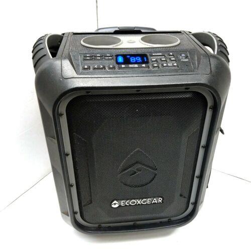 ECOXGEAR EcoBoulder Rugged Portable Bluetooth Powered Speaker PA System