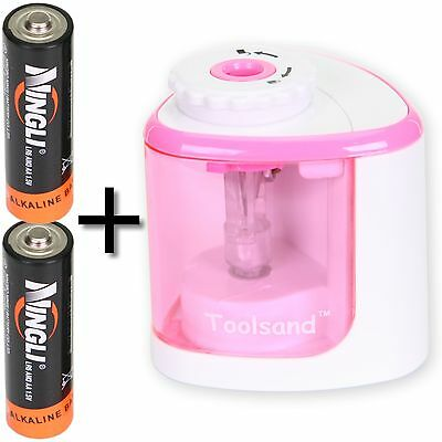Electric Pencil Sharpener Battery-powered Batteries Included High-speed Au...