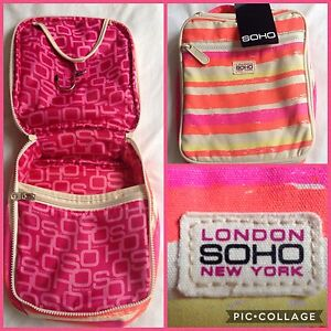 SOHO Cosmetics Travel Case BRAND NEW WITH TAGS